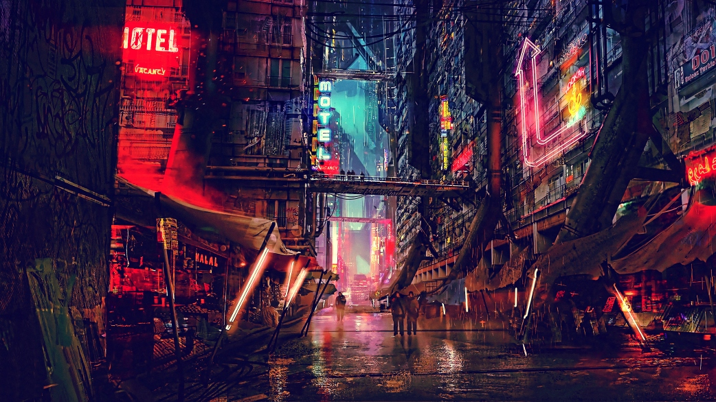 science-fiction-cyberpunk-futuristic-city-digital-art-4k-jf
