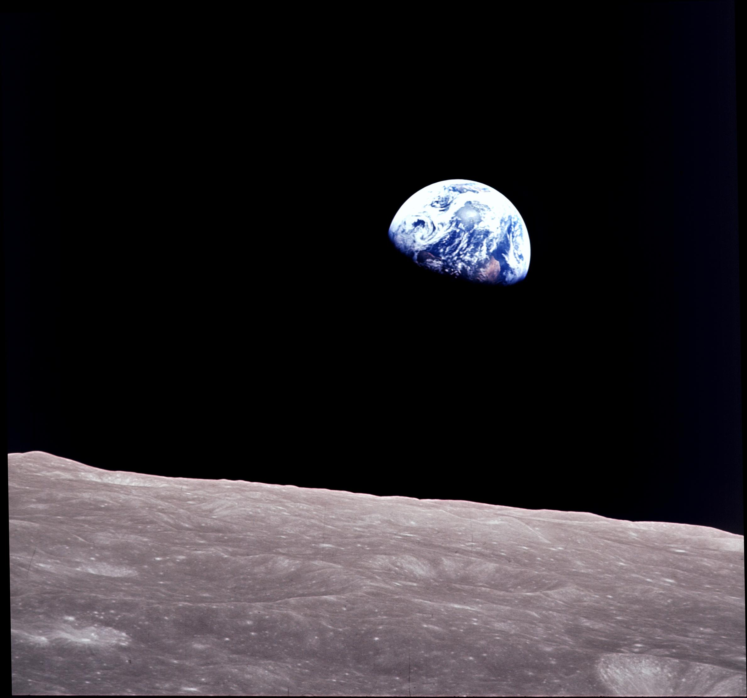Earth from Moon (NASA)